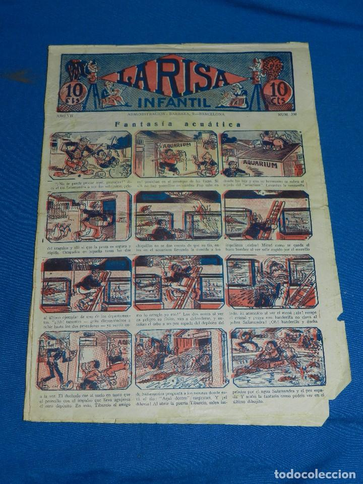 (M2) LA RISA INFANTIL NUM 336 , EDT MARCO , CON ROTURAS (Tebeos y Comics - Marco - La Risa)