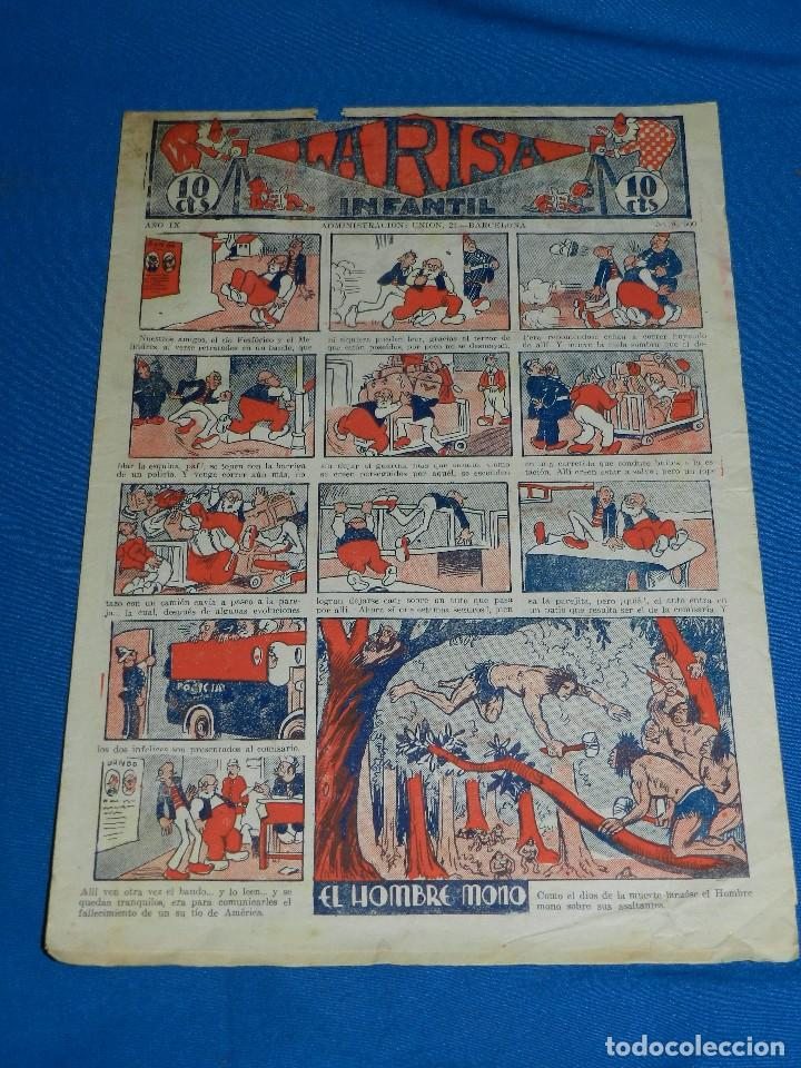 (M2) LA RISA INFANTIL NUM 500 , EDT MARCO , CON ROTURAS (Tebeos y Comics - Marco - La Risa)