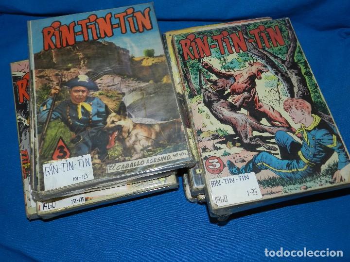 (MF) RIN TIN TIN - DEL NUM 1 AL NUM 200 , COMPLETO , EDT MARCO 1960 , CORRELATIVOS (Tebeos y Comics - Marco - Rin-Tin-Tin)