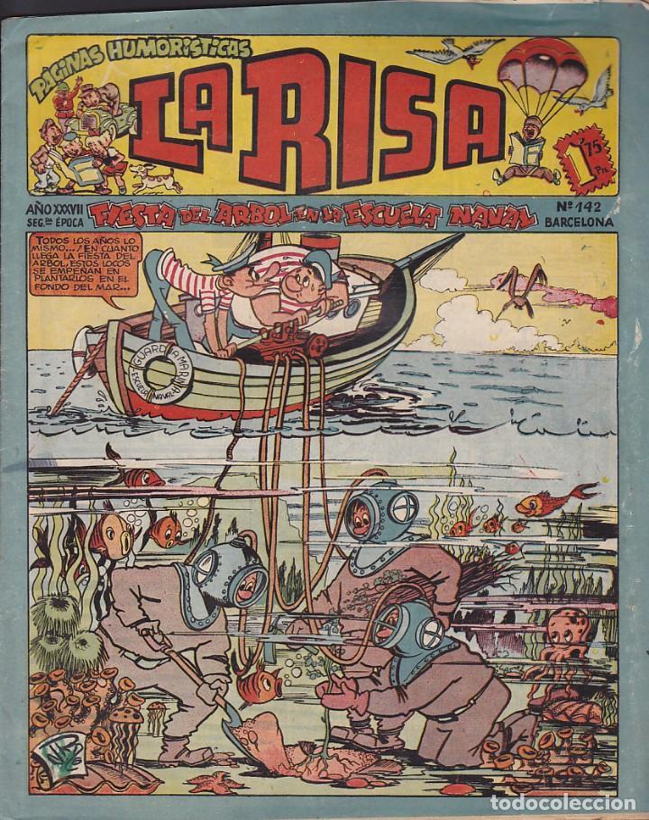 COMIC COLECCION LA RISA Nº 142 (Tebeos y Comics - Marco - La Risa)