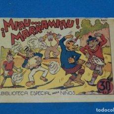 Tebeos: (M3) HIPO - ¡MIAU.. MARRAMIAU! , BIBLIOTECA ESPECIAL DE NIÑOS , E BOIX , EDT MARCO, SEÑALES DE USO. Lote 127618879