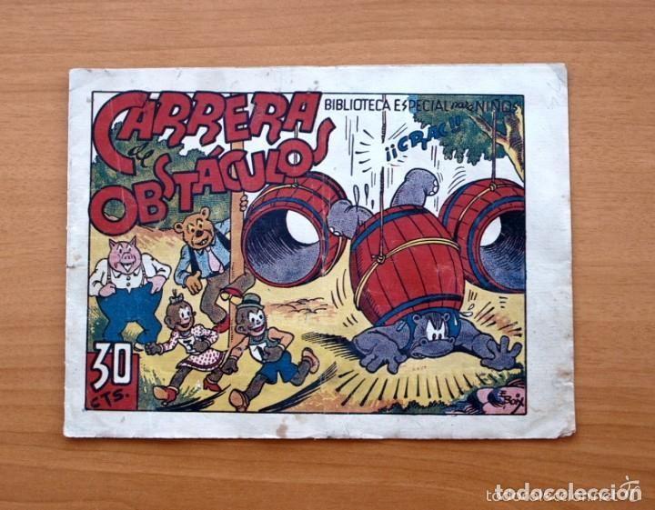 HIPO MONITO Y FIFI - CARRERA DE OBSTÁCULOS - EDITORIAL MARCO 1942 (Tebeos y Comics - Marco - Hipo (Biblioteca especial))