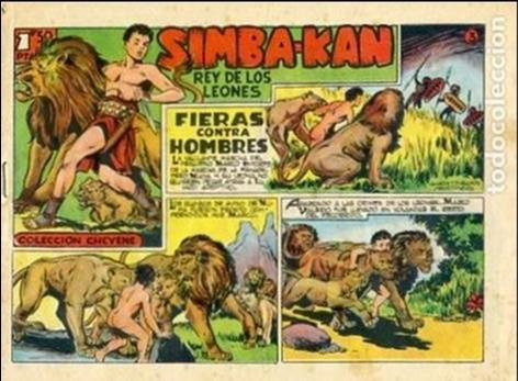 COMIC ORIGINAL EDITORIAL MARCO SIMBA-KAN Nº 3 (Tebeos y Comics - Marco - Otros)
