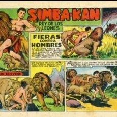 BDs: COMIC ORIGINAL EDITORIAL MARCO SIMBA-KAN Nº 3. Lote 128898159