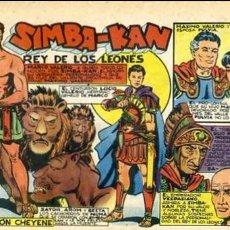 Tebeos: COMIC ORIGINAL EDITORIAL MARCO SIMBA-KAN Nº24. Lote 128904095