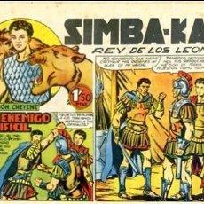 Tebeos: COMIC ORIGINAL EDITORIAL MARCO SIMBA-KAN Nº27. Lote 128904267