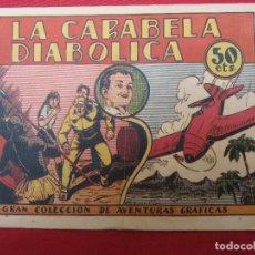 Tebeos: GRAN COLECCION DE AVENTURAS GRAFICAS , LOS NAVARRO , N.3 - LA CARABELA DIABOLICA , MARCO 1940. Lote 130169271