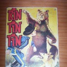 BDs: RIN TIN TIN - NÚMERO 37 - AÑO 1958. Lote 130173043