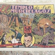 Tebeos: NAVARRO N.º 6 EL TEMPLO DE LOS MURCIELAGOS SANCHIS ED. MARCO 50 CTS. 1940 CON ESTAMPAS DE TRAJES . Lote 130212051
