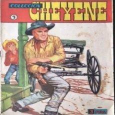Tebeos: TEBEO N°1 CHEYENE 1962. Lote 130537400