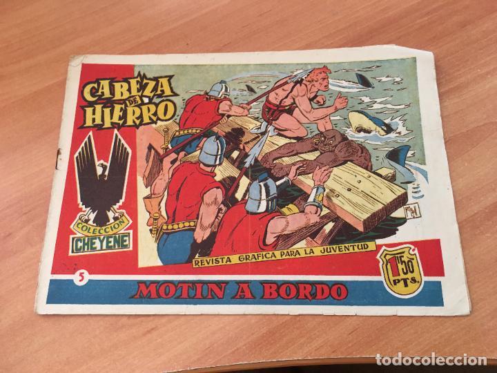 CABEZA DE HIERRO Nº 5 MOTIN A BORDO (ED. MARCO) (COIM7) (Tebeos y Comics - Marco - Otros)