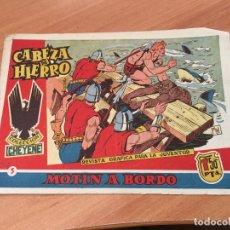 Tebeos: CABEZA DE HIERRO Nº 5 MOTIN A BORDO (ED. MARCO) (COIM7). Lote 130827396