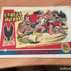 Tebeos: CABEZA DE HIERRO Nº 1 EL JURAMENTO DE ICAR (ED. MARCO) (COIM7). Lote 130827516