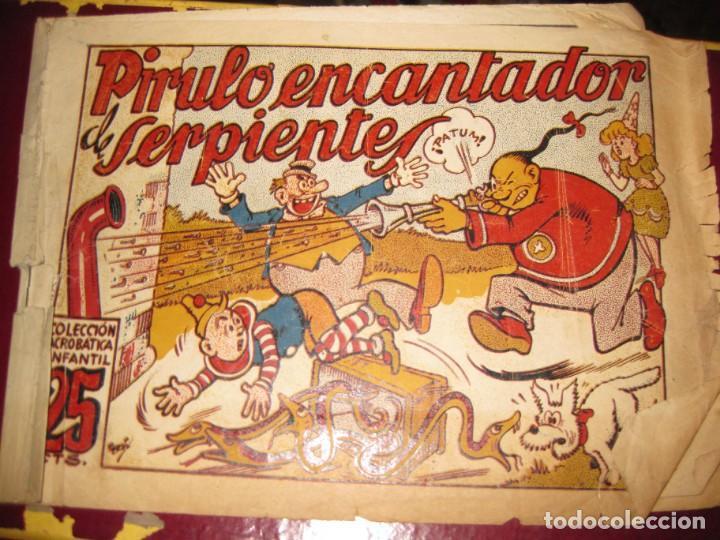 PIRULO ENCANTADOR DE SERPIENTES . COLECCION ACROBATICA INFANTIL . ED MARCO (Tebeos y Comics - Marco - Otros)