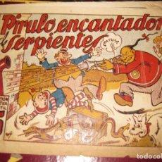 Tebeos: PIRULO ENCANTADOR DE SERPIENTES . COLECCION ACROBATICA INFANTIL . ED MARCO. Lote 131396870