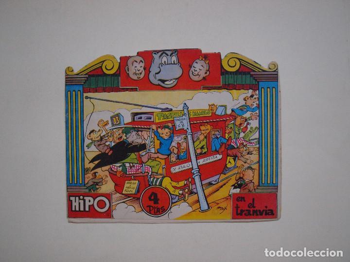 HIPO EN EL TRANVÍA - Nº 2 - CUENTO TROQUELADO - EDITORIAL MARCO (Tebeos y Comics - Marco - Hipo (Biblioteca especial))
