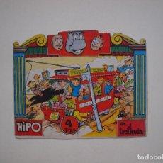 Tebeos: HIPO EN EL TRANVÍA - Nº 2 - CUENTO TROQUELADO - EDITORIAL MARCO. Lote 131530158