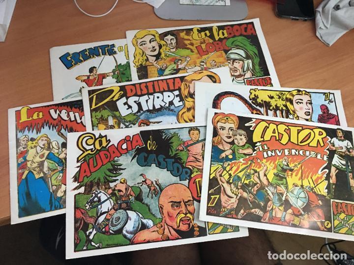 CASTOR EL INVENCIBLE LOTE 1, 2, 3, 4, 6, 7 Y 8 FACSIMIL (COIM9) (Tebeos y Comics - Marco - Castor el Invencible)