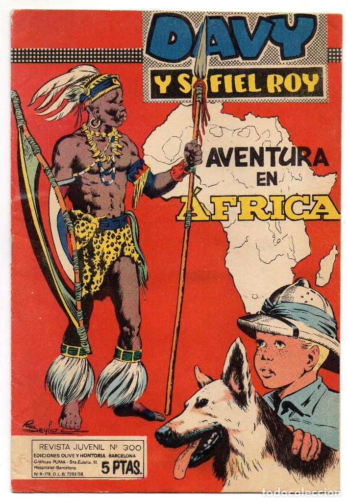 RIN-TIN-TIN DAVY Y SU FIEL ROY Nº 300 (MARCO 1967) (Tebeos y Comics - Marco - Rin-Tin-Tin)