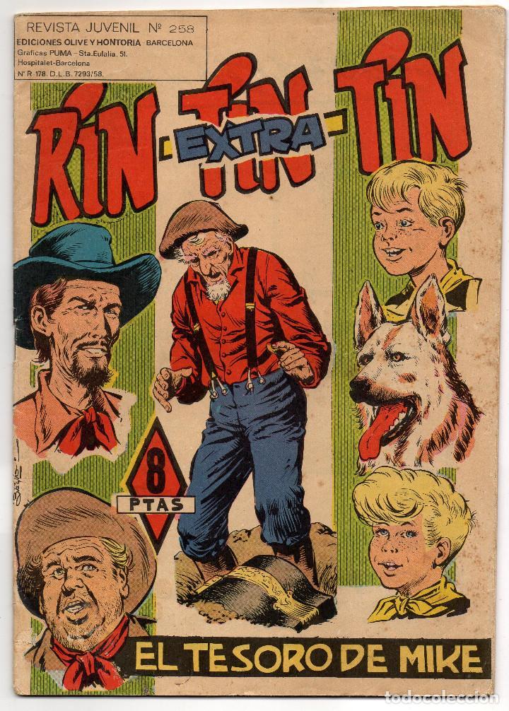 RIN-TIN-TIN EXTRA Nº 258 (MARCO 1966) (Tebeos y Comics - Marco - Rin-Tin-Tin)