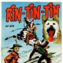 Tebeos: RIN-TIN-TIN Nº 209 (MARCO 1965). Lote 131679874