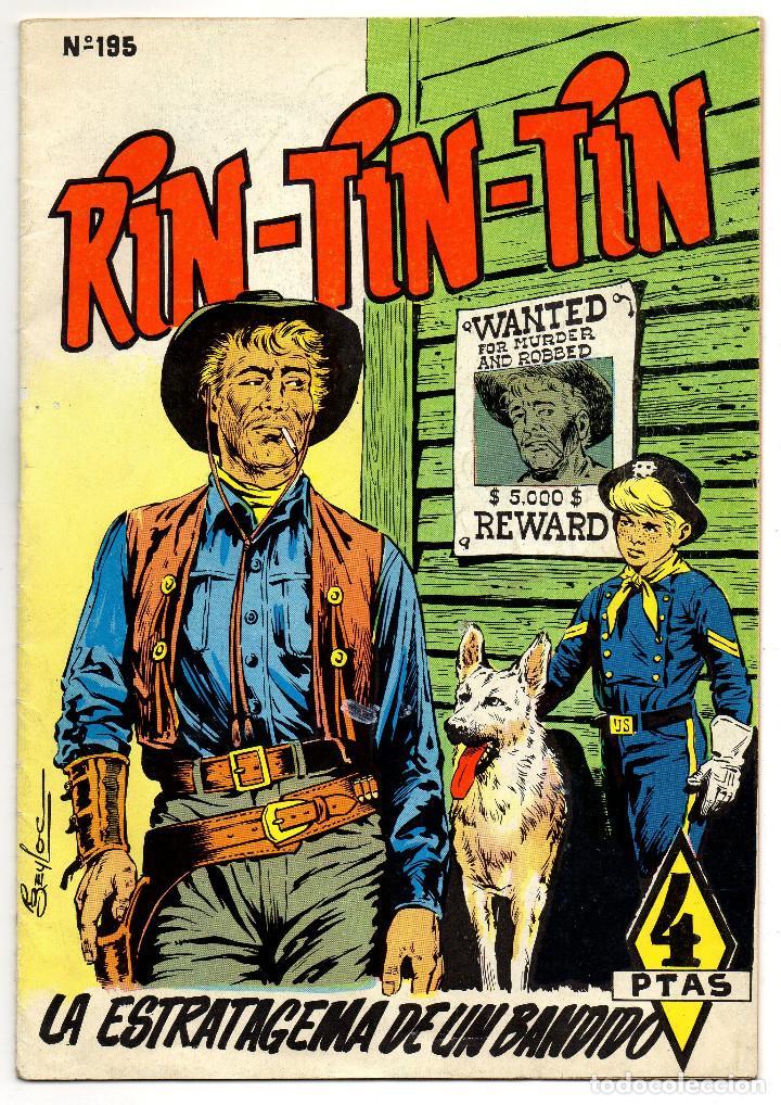 RIN-TIN-TIN Nº 195 (MARCO 1965) (Tebeos y Comics - Marco - Rin-Tin-Tin)