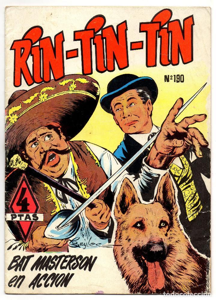 RIN-TIN-TIN Nº 190 (MARCO 1965) (Tebeos y Comics - Marco - Rin-Tin-Tin)
