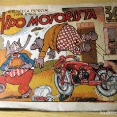 Tebeos: HIPO MOTORISTA . BIBLOTECA PARA NIÑOS . EDITORIAL MARCO . Lote 132015074