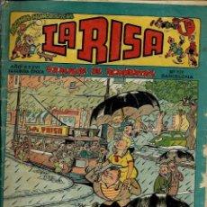 Tebeos: LA RISA Nº 139 - EDITORIAL MARCO 1958 - CON RAF Y DOBLE PAGINA CENTRAL DE FRANCISCO IBAÑEZ. Lote 132903158