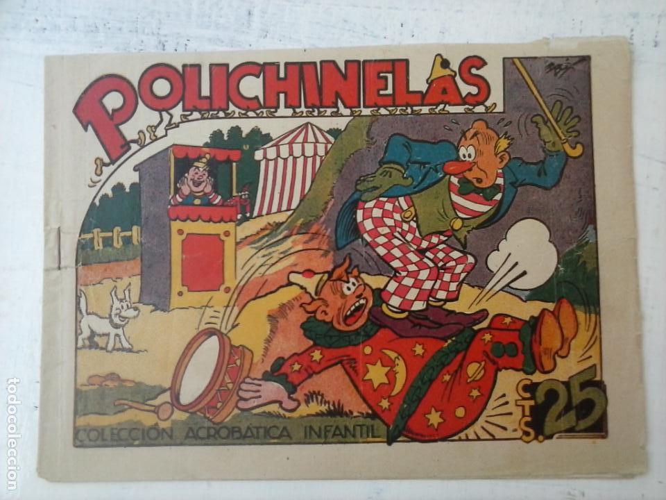 COLECCIÓN ACROBÁTICA INFANTIL - POLICHINELAS - ORIGINAEL EDI. MARCO (Tebeos y Comics - Marco - Acrobática Infantil)