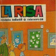 Tebeos: LA RISA 3ª EPOCA Nº 58 - OLIVE Y HONTORIA 1965 - CON 'MELENAS' DE FRANCISCO IBAÑEZ, RAF, ETC.. Lote 133484006