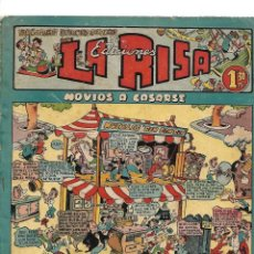 Tebeos: LA RISA, AÑO 1.952. Nº 1. ORIGINAL DIBUJANTES MARTINEZ, E. BOIX, COLL, J. RIZO, EDITORIAL MARCO.. Lote 134006134