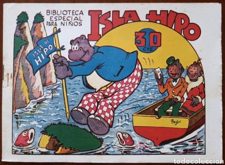 TEBEO HIPO MONITO Y FIFI ISLA HIPO 1942 (Tebeos y Comics - Marco - Hipo (Biblioteca especial))