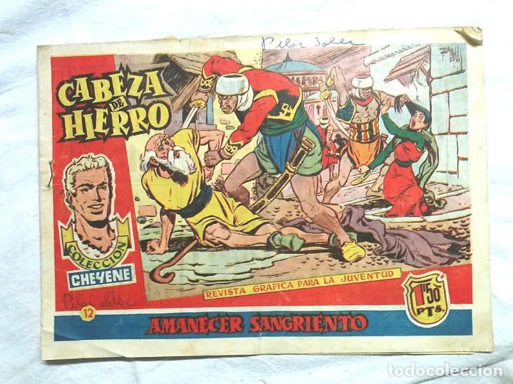 CABEZA DE HIERRO Nº 12 AMANECER SANGRIENTO. SERIE CHEYENE (Tebeos y Comics - Marco - Otros)