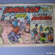 Tebeos: SIMBA-KAN (1960, MARCO) 44 · 22-XII-1961 · GUERRA SIN CUARTEL. Lote 135719915