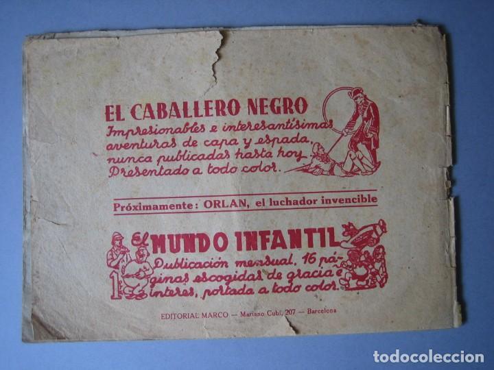 Tebeos: PUMA, EL (1946, MARCO) 8 · 1946 · RESCATE TRAGICO - Foto 2 - 135720695
