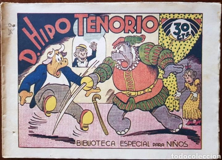 TEBEO HIPO MONITO Y FIFI D.HIPO TENORIO 1942 (Tebeos y Comics - Marco - Hipo (Biblioteca especial))