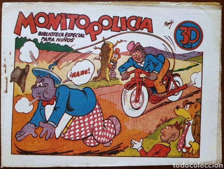 TEBEO HIPO MONITO Y FIFI MONITO POLICÍA 1942 (Tebeos y Comics - Marco - Hipo (Biblioteca especial))