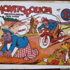 Tebeos: TEBEO HIPO MONITO Y FIFI MONITO POLICÍA 1942. Lote 135918737