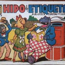 Tebeos: TEBEO HIPO MONITO Y FIFI HIPO DE ETIQUETA 1942. Lote 136166164