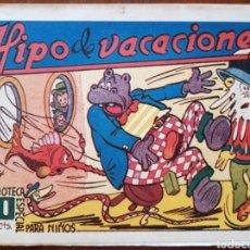 Tebeos: TEBEO HIPO MONITO Y FIFI HIPO DE VACACIONES 1942. Lote 136166212