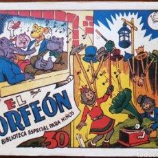Tebeos: TEBEO HIPO MONITO Y FIFI EL ORFEÓN 1942. Lote 136166784
