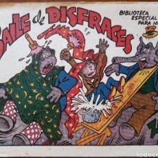 Tebeos: NORMAL ESTADO DE CONSERVACION BAILE DE DISFRACES 1942. Lote 136235420