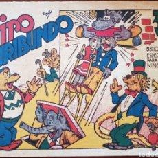 Tebeos: TEBEO HIPO MONITO Y FIFI HIPO FURIBUNDO 1942. Lote 136235617