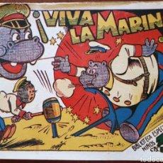 Tebeos: TEBEO HIPO MONITO Y FIFI VIVA LA MARINA 1942. Lote 136235688