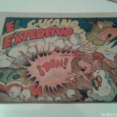 Tebeos - Tebeo El gusano explosivo. Narizán (dibujado por Ayné). Editorial Marco. - 137424248