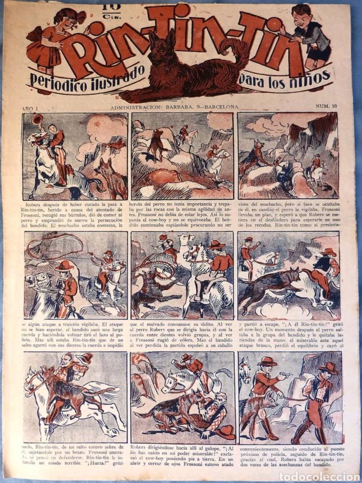 TEBEO N°10 RIN TIN TIN 1928 (Tebeos y Comics - Marco - Rin-Tin-Tin)