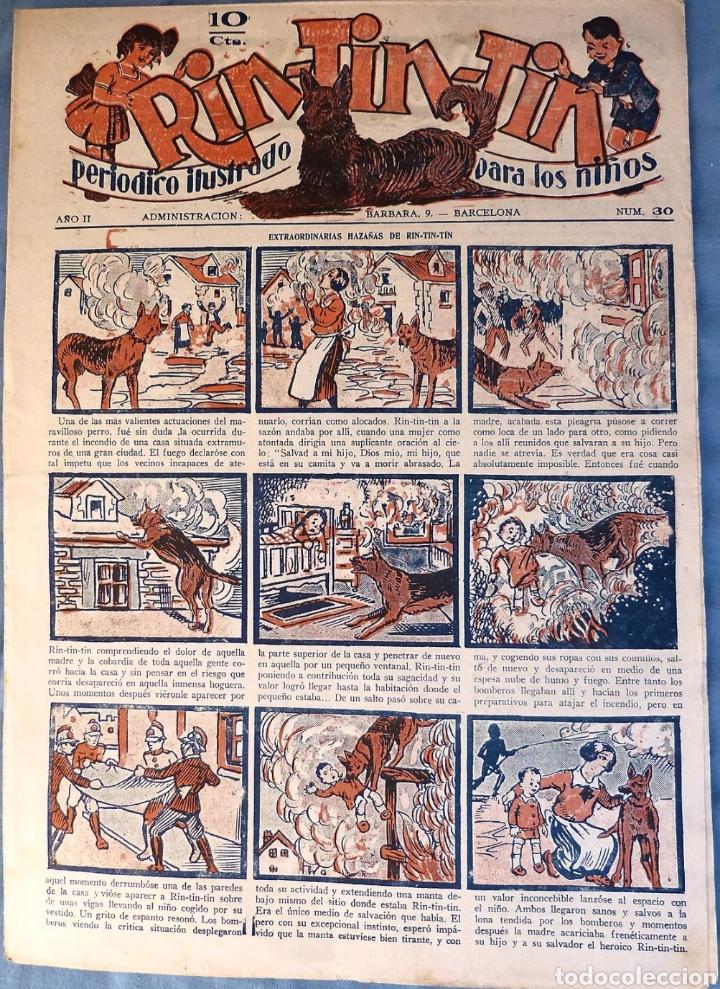TEBEO N°30 RIN TIN TIN 1928 (Tebeos y Comics - Marco - Rin-Tin-Tin)