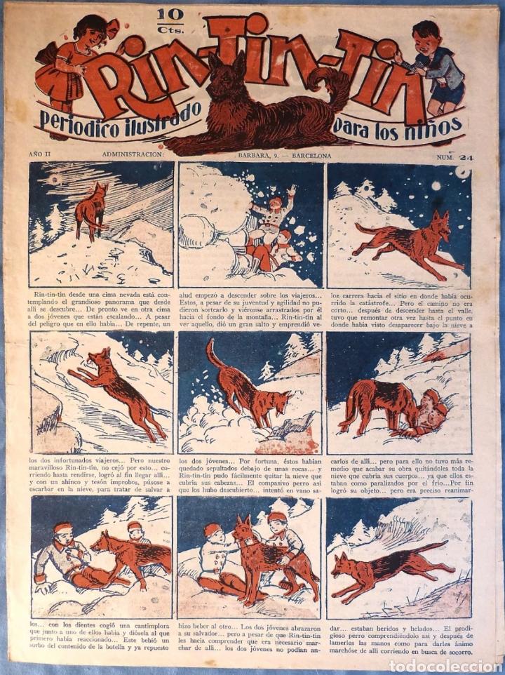TEBEO N°24 RIN TIN TIN 1928 (Tebeos y Comics - Marco - Rin-Tin-Tin)