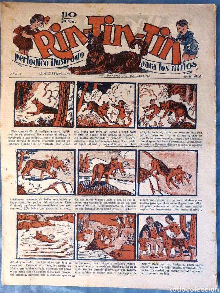 TEBEO N°42 RIN TIN TIN 1928 (Tebeos y Comics - Marco - Rin-Tin-Tin)